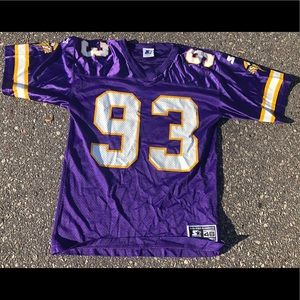 Vintage 90's John Randle Minnesota Vikings Jersey